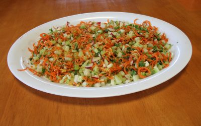 Zesty Carrot & Corriander Salad