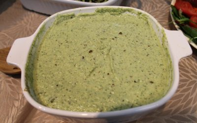 Raw Spinach-Avocado Soup