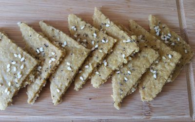Chickpea & Oat Crackers