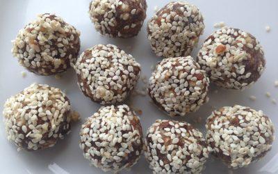Raw Carob Prune Balls