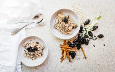 Bircher Muesli with Seeds, Nuts & Prunes