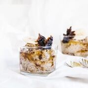 Chia Pudding with Prunes