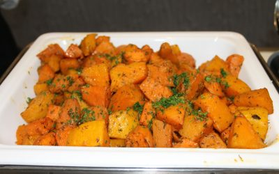 Roasted Pumpkin & Sweet Potato